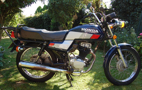 Download Honda Cg-125 repair manual