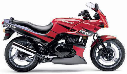 Download Kawasaki Ex500 Gpz500s repair manual