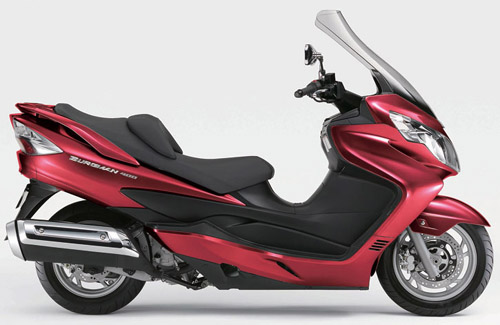 Download Suzuki Burgman An400 K7 Italian repair manual