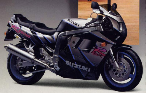 Download Suzuki Gsx-R1100 repair manual